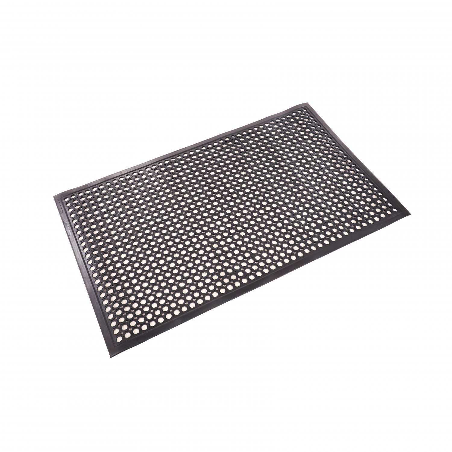 Large Durable Drainage Black Outdoor Door Anti-Slip Rubber Mat