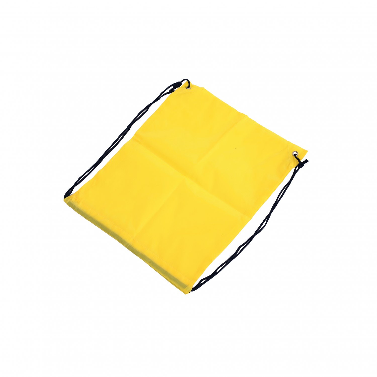Oxford Cloth Sports PE Yellow Laundry Drawstring Bag