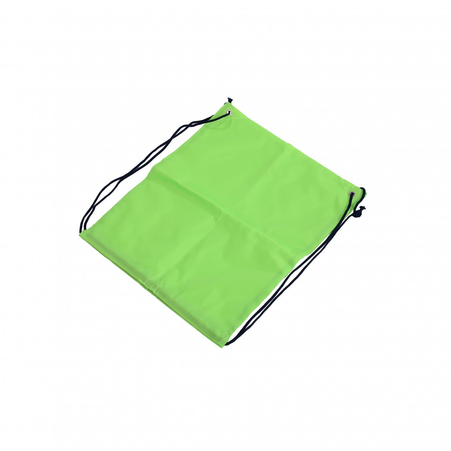 Oxford Cloth Sports PE Lime Green Laundry Drawstring Bag