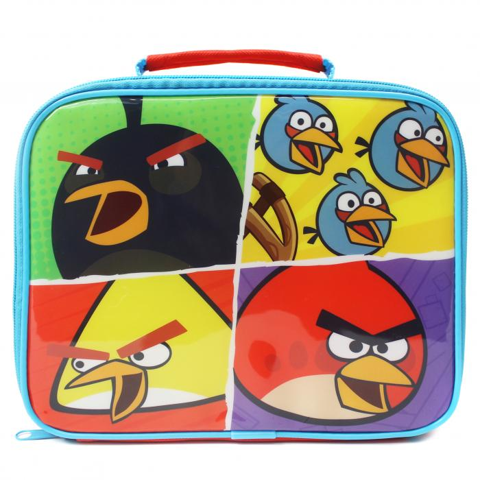 Angry Birds Classic Rectangular School Lunch Bag Box