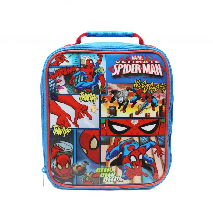 Ultimate Spiderman School Lunch Bag Box