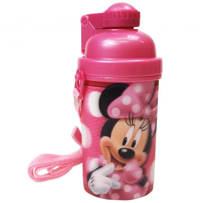 Disney Minnie Lenticular Pop Up Drink Canteen Flask Bottle